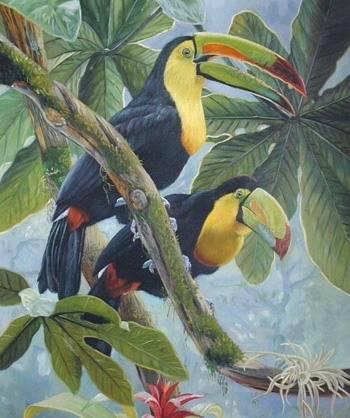 bird painting birds oil paintings sinoorigin
