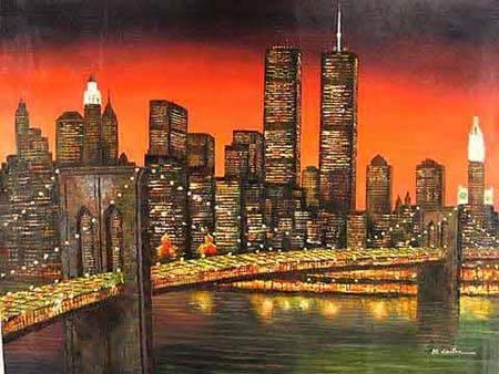 Cityscape Paintings 3 Cityscape Painting Sinoorigin