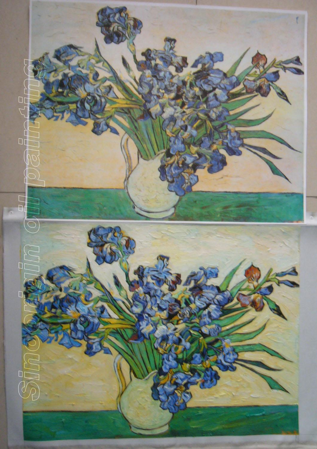 Vincent van gogh oil painting still life vase with irises reviewsmspy