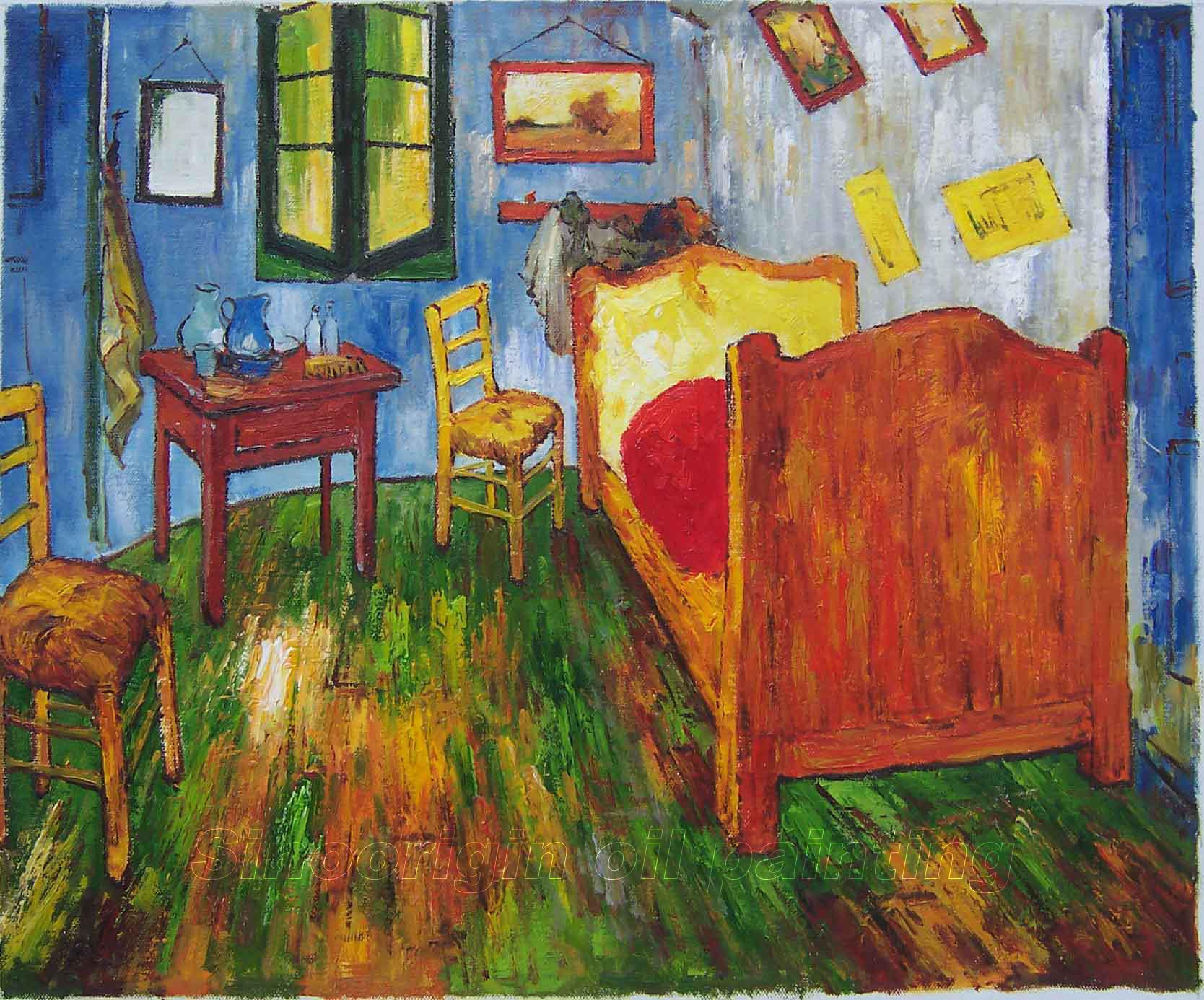 painting vincent van gogh bedroom in World famous van gogh bedroom in arles gets a new permanent place in  the  hotel bedroom is an exact copy of van gogh's painting of 'the.