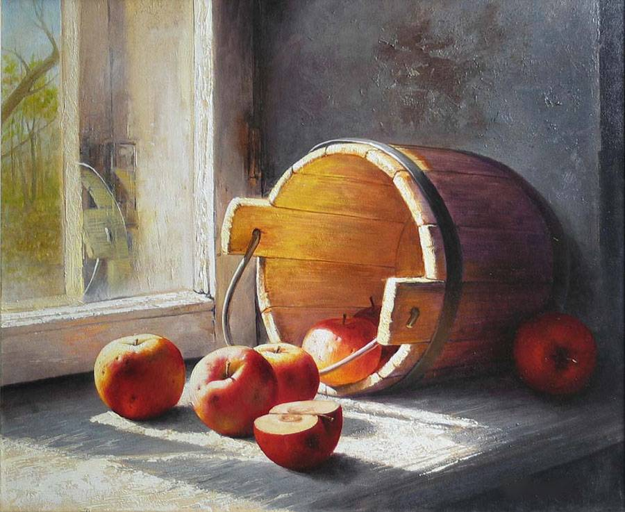 Fruit Painting From Photo - Fruit Oil Painting