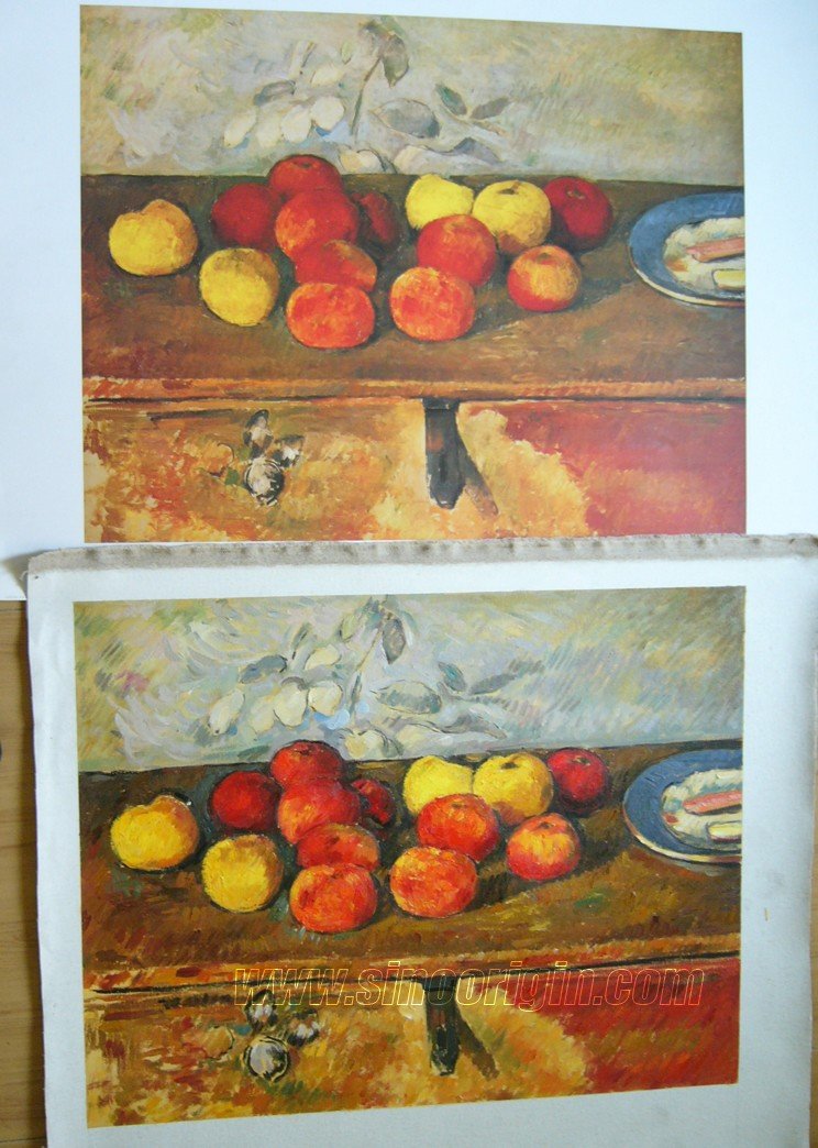 Cezanne, still life painting